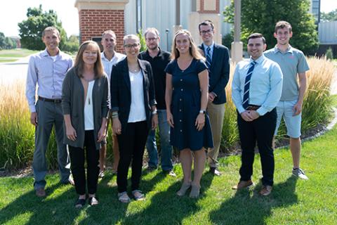 New 21-22 faculty at Dordt