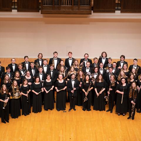 Wind Symphony group photo